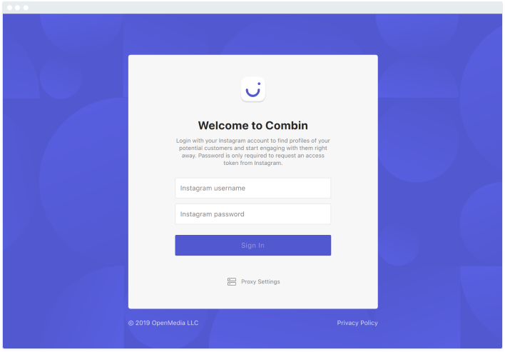Getting started to grow Instagram with Combin
